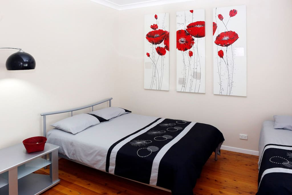 Bedroom 2.... Double bed + Single bed
