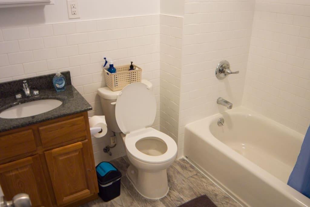 4th Floor bathroom, shared