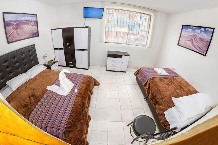 Cusco'sHome1 :apartamento Privado hot water+wifi