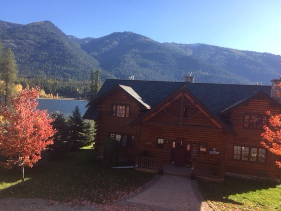 Bull Lake Mt Amish Built Log Home Cabins For Rent In