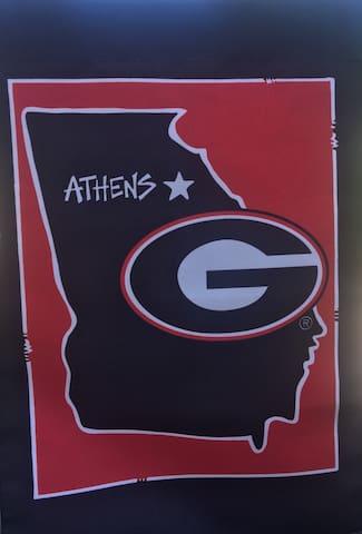 Athens Game Day Get Away!