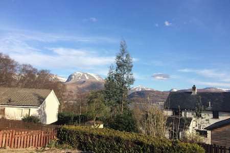 Highland home with views of Ben Nevis