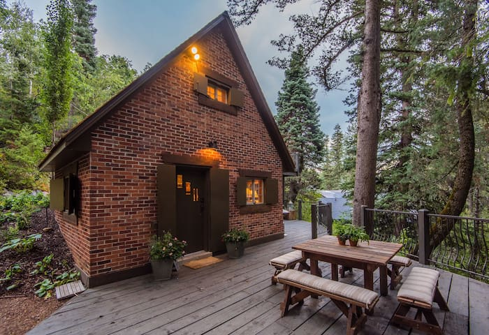 Wee Cottage in the Woods- Fireplace, Hot Tub, Tiny House, Unparalleled Charm