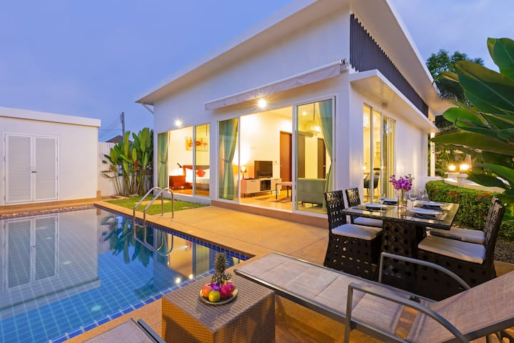 ☀️Private Pool Villa☀️ 2 Bedrooms 3 Baths, Rawai