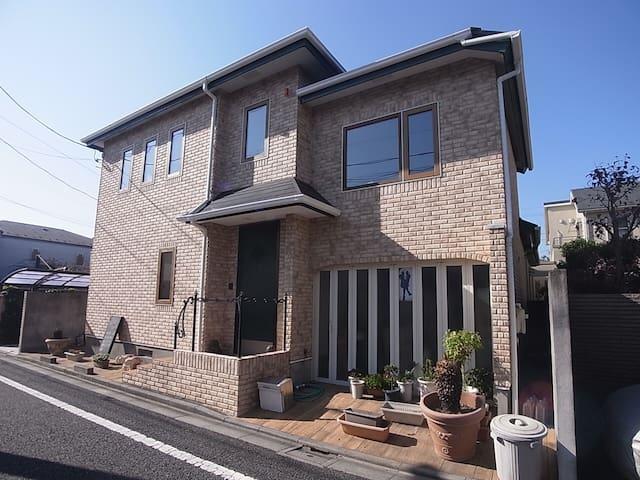 成田、羽田から交通便利です。中央線、丸ノ内線、京王井の頭線で利用可能、 - Suginami - Hus