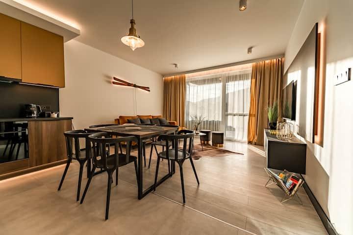 Apartament Olimpijska 1 dla 6 osób - 700m od stoku