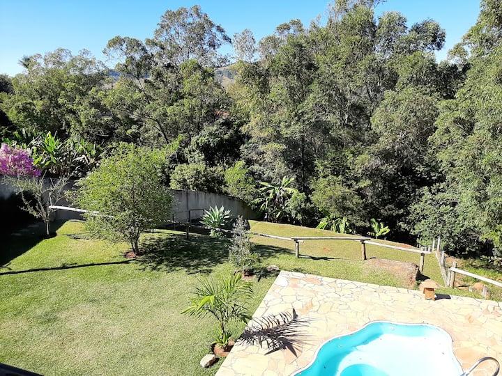 Monte Alegre - Paraíso Verde e Turístico. Com wifi