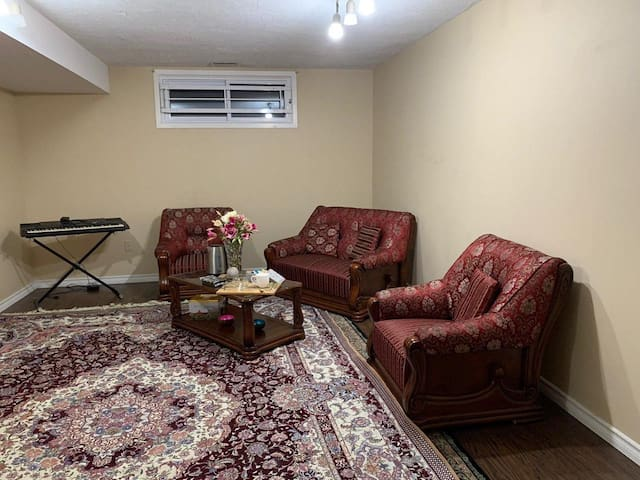 Nice and cozy entire basement