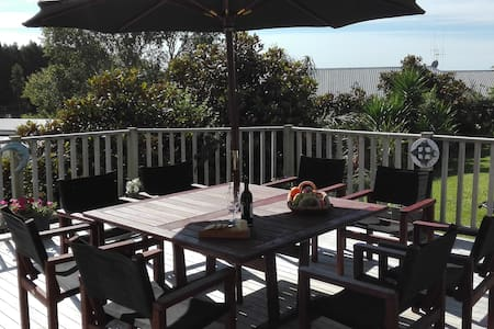 Friendly comfortable rural retreat. - Tauranga - Casa de camp