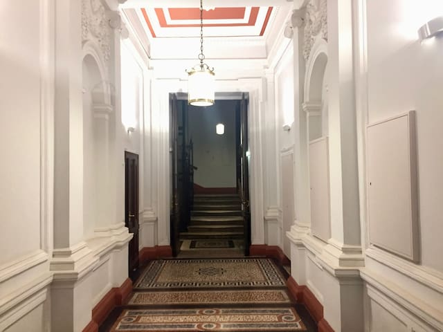 1st district apartment in classical building