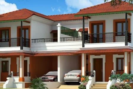 Min. 1 Yr Rent-3BHK Villa in Divar Island Goa - Goa - Huvila
