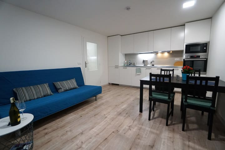 New apartment on the winning address with parking