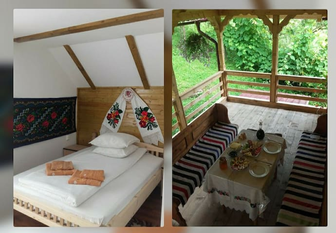 Casa Leca(Rooms for rent at farm stay + breakfast)