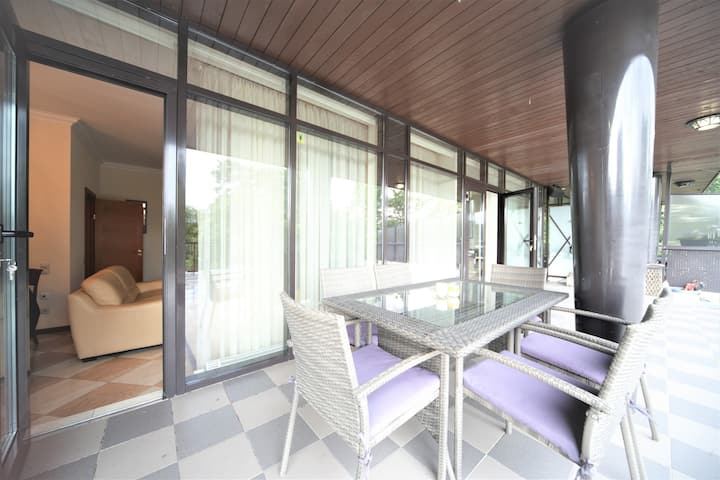 Jurmala apartment with private terrace