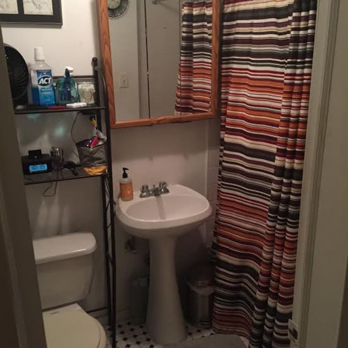 Full bathroom that you can use during your stay.