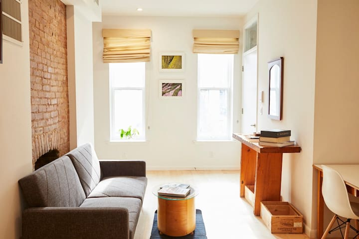 Gorgeous Clinton Hill Brooklyn 1BR Garden Apt