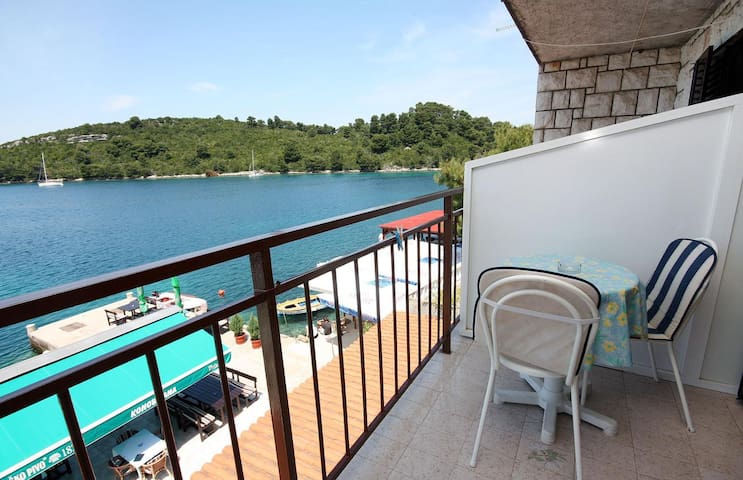 Room with terrace and sea view Pomena (Mljet) (S-4929-b)