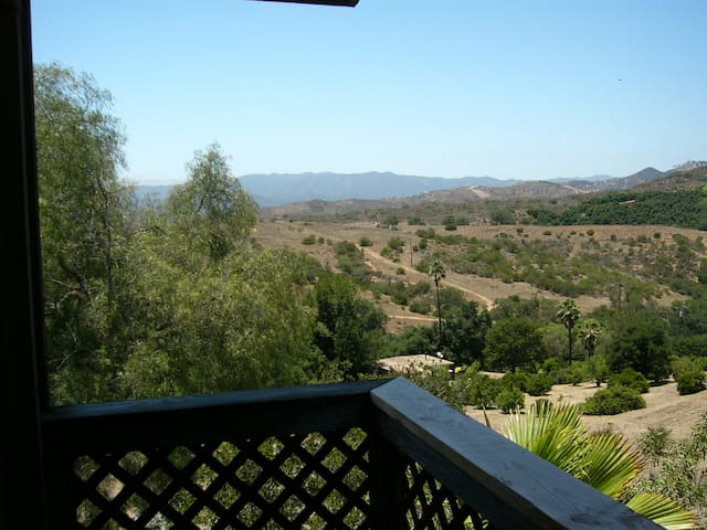 Western view from private back deck