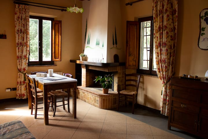 Villa del Fattore - typical Tuscany style