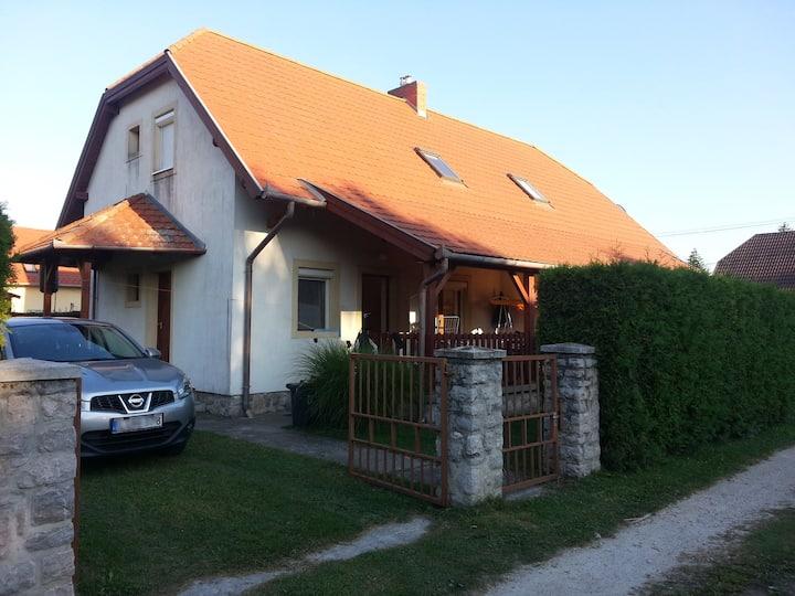 Dorka apartment on the shore of the lake Balaton