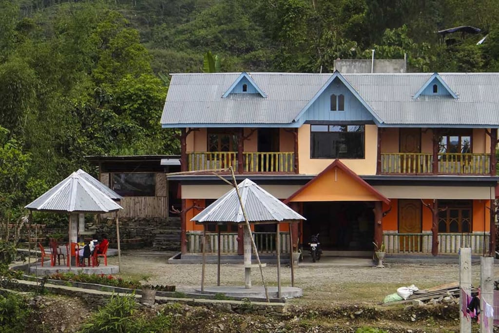The main bungalow