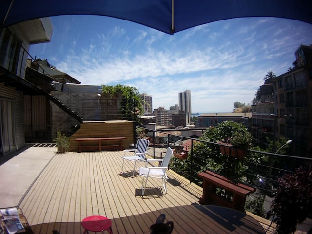 Rooms Valparaíso Private Baths Breakfast Included - Valparaíso - ที่พักพร้อมอาหารเช้า