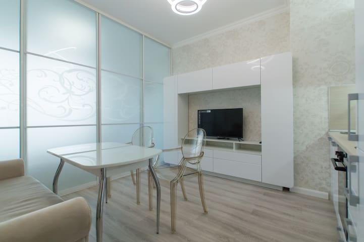 Новые апартаменты рядом с метро
