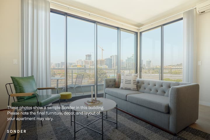 Sonder | The Leo | Sleek 3BR + Balcony