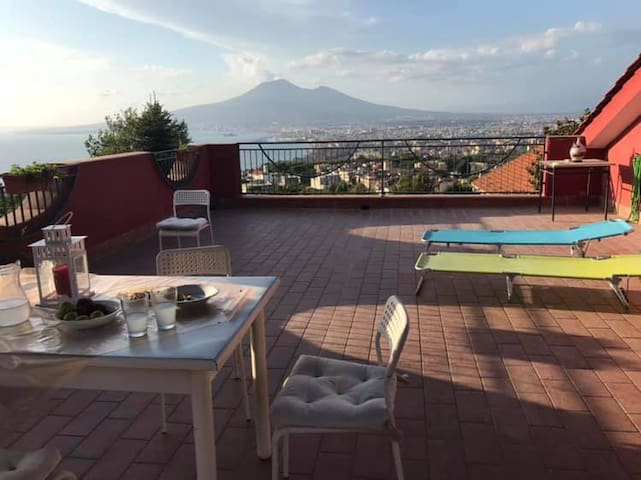 Panoramic Home between Pompei and Sorrento!