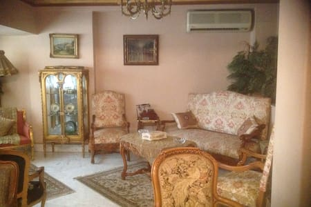 Duplex for rent on Zamalek, Cairo, Egypt.