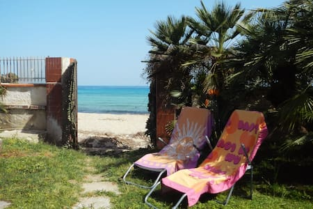 Casina Blu - Bungalow on the beach - Fontane Bianche