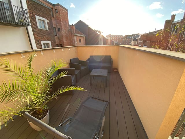 Fully furnished and equipped one-bedroom flat