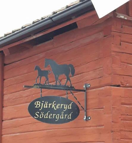 Bjärkeryd Södergård Bed and Stable Vita Huset