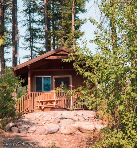 Columbia Mtn. Cabin 12 near Glacier National Park