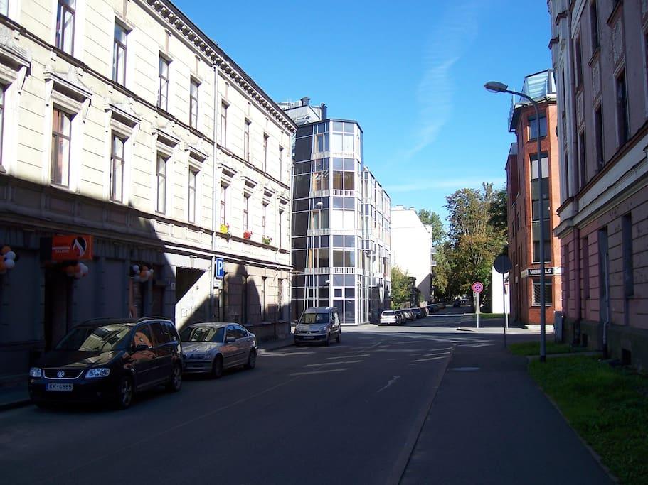 Street view (Jekabpils str.)