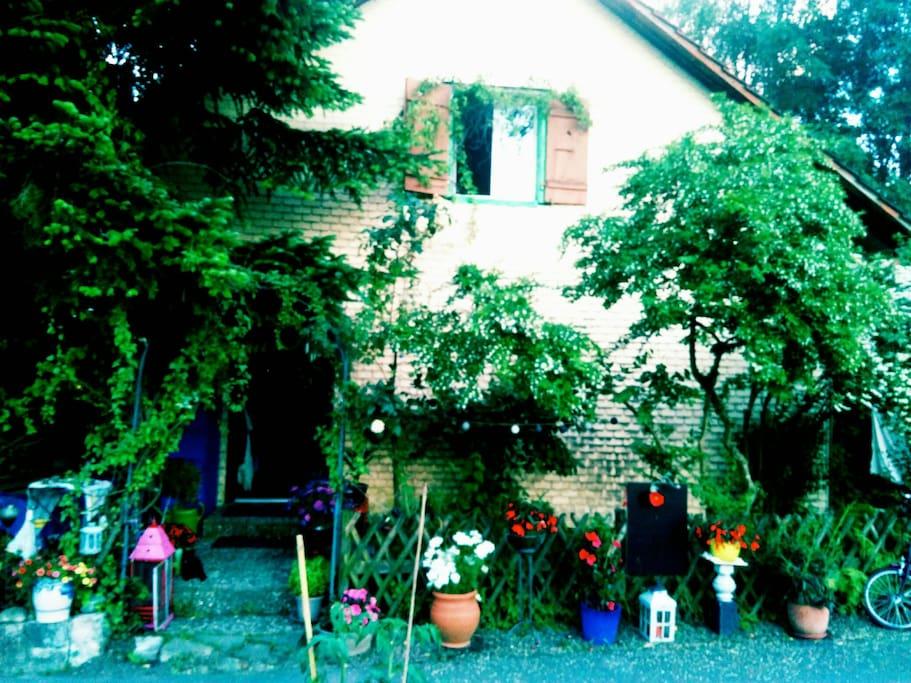 74 years old farm house