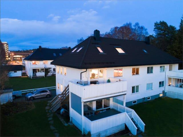 Koselig og romslig leilighet sentralt Kristiansand