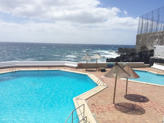 Amazing sea view private terrace, salty water pool