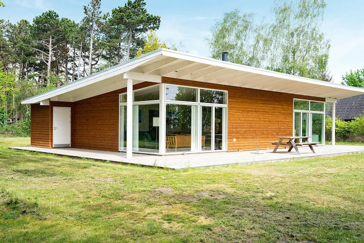 Delightful Holiday Home in Knebel with Sauna