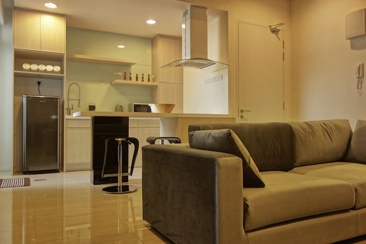 [Eve] Cozy apt, 35mins to KLCC (LRT), wifi 100mbps