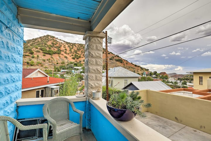 'St Patrick' Apartment in the Heart of Bisbee