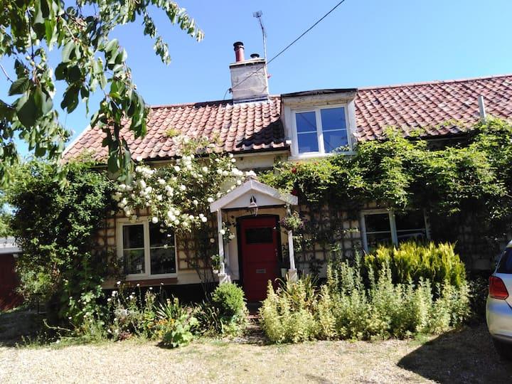 Quintessential Suffolk cottage