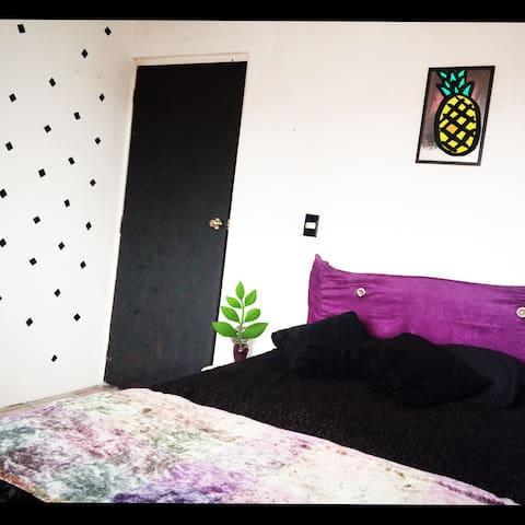 Habitación  agradable y céntrica en metepec