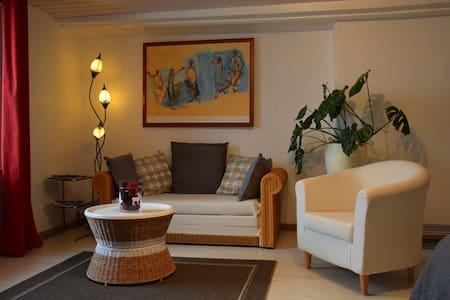 Beau et grand studio à 100m du lac de Neuchâtel - Chez-le-Bart