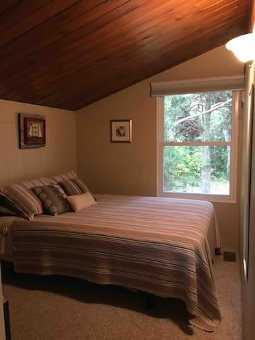 Bedroom 1 upstairs- Queen