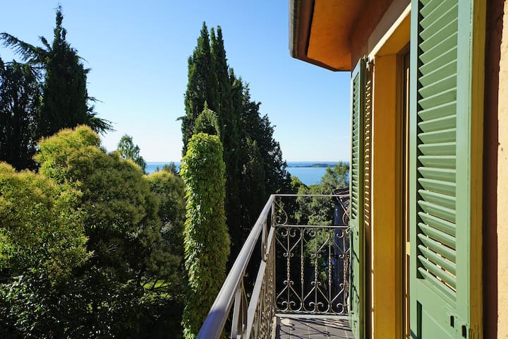 Small room balcony with the view