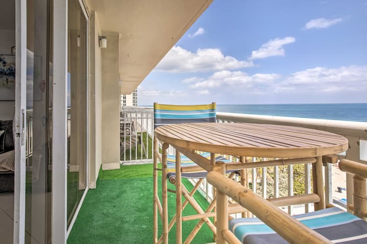 NEW! Oceanside Sunny Isles Escape w/ Beach Views!