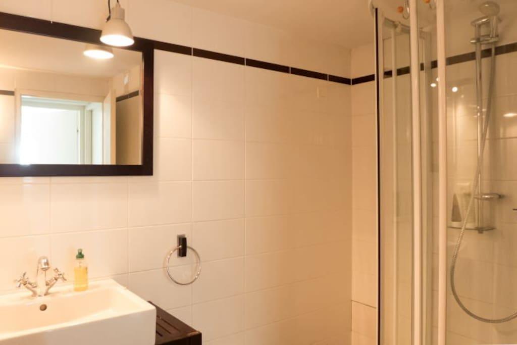 Salle de douche indépendante