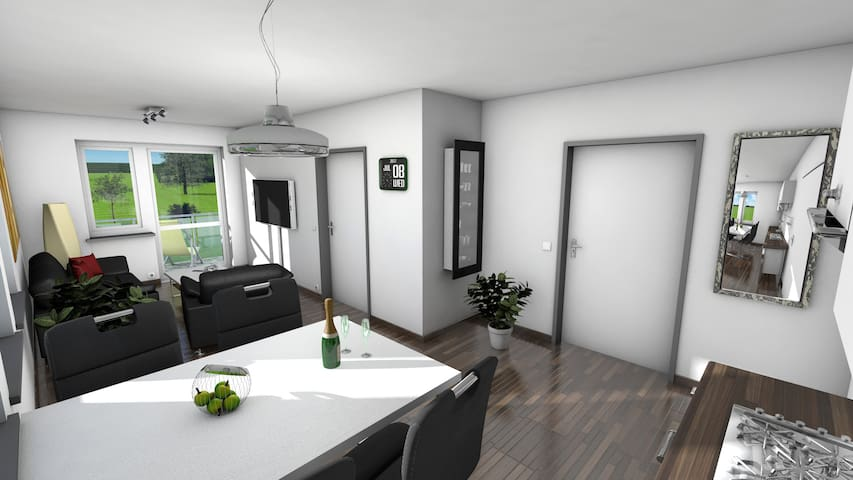 Serviceappartements an - Koserow - Apartment