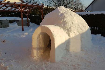 Romanticka noc v igloo - Liberec - House